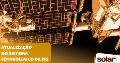 Sistema de Energia Fotovoltaica da Estação Espacial