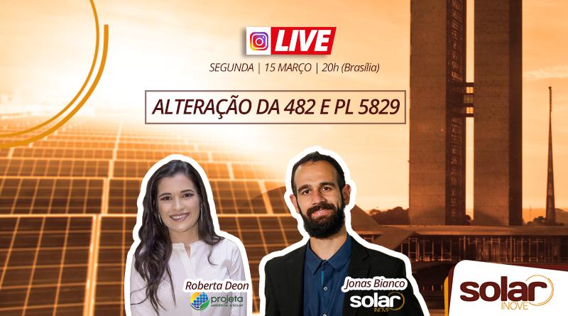 Live sobre a PL5829