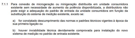 Módulo 3 – Acesso ao Sistema de Distribuição do PRODIST