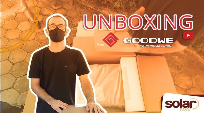 Unboxing Inversor GoodWe