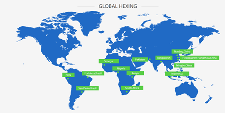 Países Hexing Global