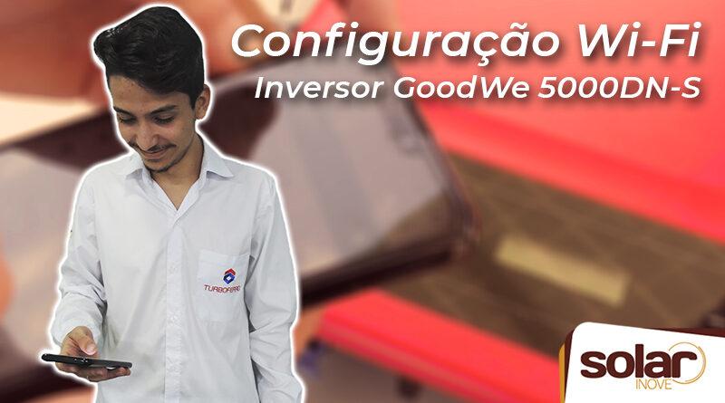 Configuração Wi-Fi GoodWe