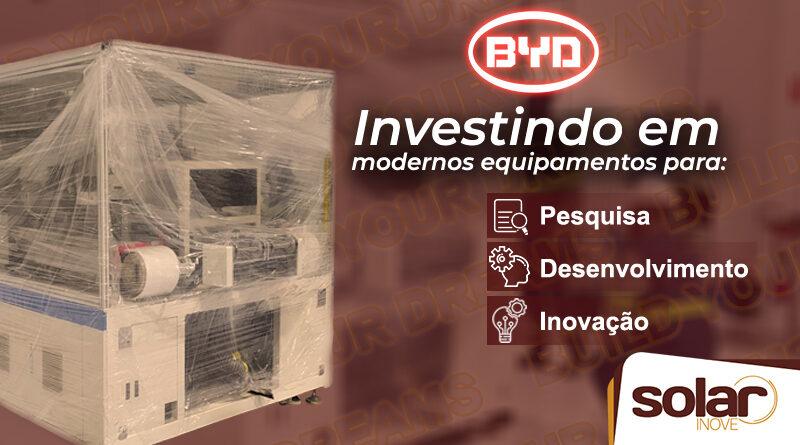 Investimento da BYD
