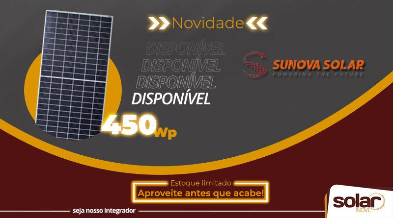 Módulo Sunova 450Wp