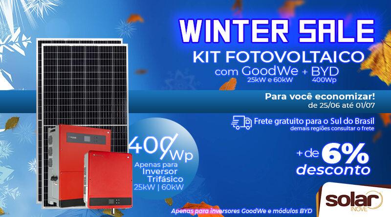 Promoção de Inverno Solar Inove