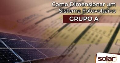 Como dimensionar um sistema fotovoltaico grupo A