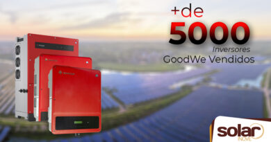 Comercialização de 5 mil inversores da GoodWe