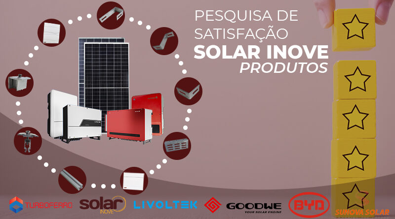 Pesquisa de Satisfação - Solar Inove