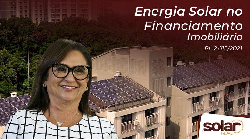 Energia solar no financiamento imobiliário